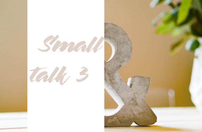 Smalltalk beginnt mit Kontaktaufnahme: dem gegenseitigen Einverständnis.